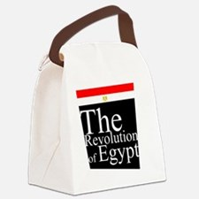 Revolution of Egypt Canvas Lunch Bag