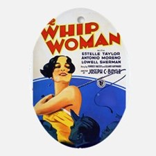 magnet-whipwoman Oval Ornament