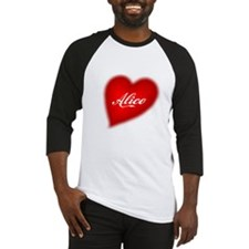 I love Alice products Baseball Jersey