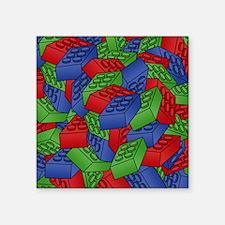 "brick_pile2 Square Sticker 3"" x 3"""