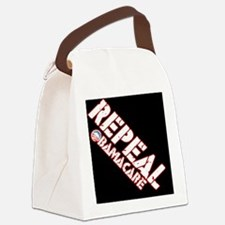 repeal_button Canvas Lunch Bag