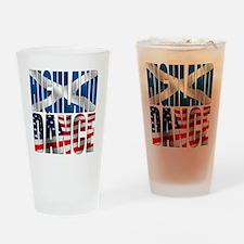 Highland Dance Drinking Glass