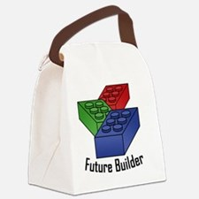 future_builder_02 Canvas Lunch Bag
