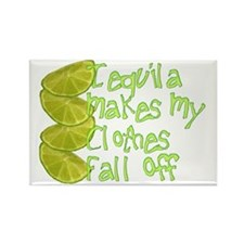 tequila Rectangle Magnet