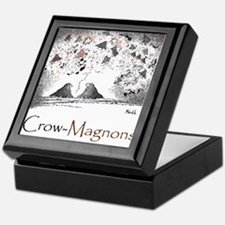 Crow-Magnon 10x10 Apparel Template Keepsake Box
