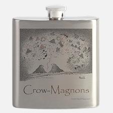 Crow-Magnon 10x10 Apparel Template Flask