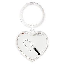 tong Heart Keychain