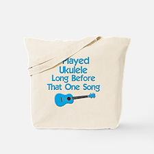 funny ukulele uke ukelele Tote Bag