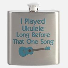 funny ukulele uke ukelele Flask