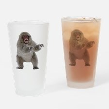 zombiemonkeyshirt Drinking Glass