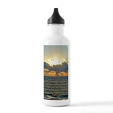 psalm143v Sports Water Bottle