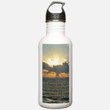 psalm143v Sports Water Bottle