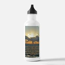 psalm143v Water Bottle