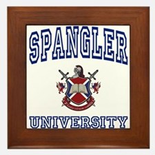 SPANGLER University Framed Tile