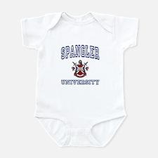 SPANGLER University Infant Bodysuit
