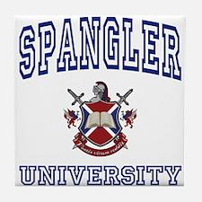 SPANGLER University Tile Coaster