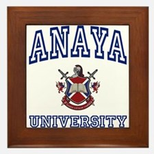 ANAYA University Framed Tile