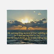 psalm143Lg Throw Blanket