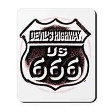 Devils HWY CafePress PNG Mousepad