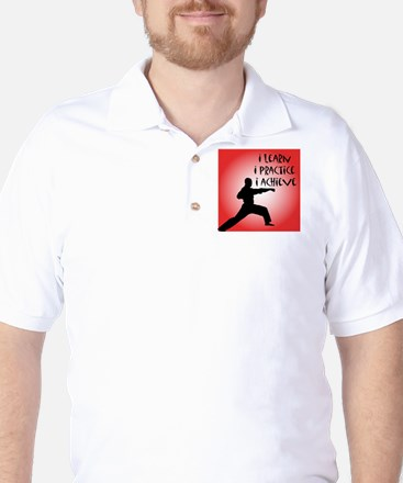 cp_karate3 Golf Shirt