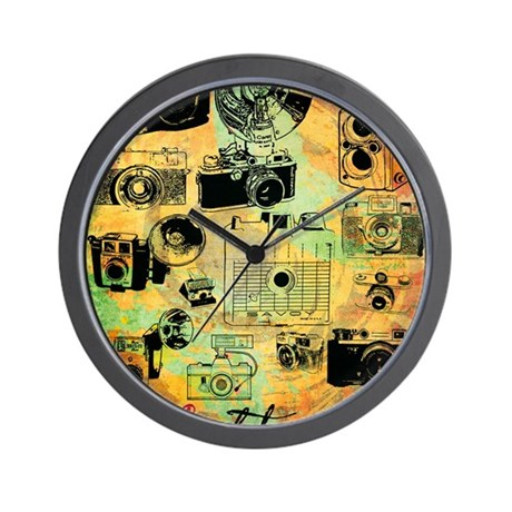 hg-8x10-lovephotography Wall Clock