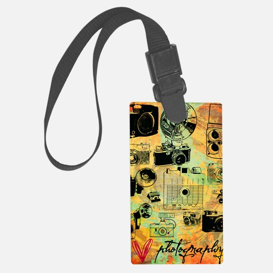 hg-8x10-lovephotography Large Luggage Tag
