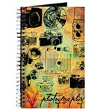 Vintage camera Journals & Spiral Notebooks