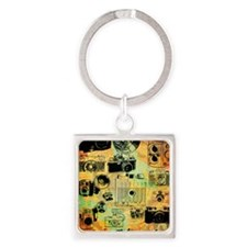 hg-8x10-lovephotography Square Keychain