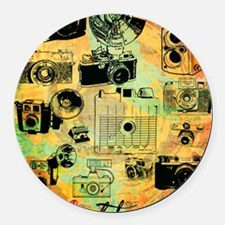 hg-8x10-lovephotography Round Car Magnet