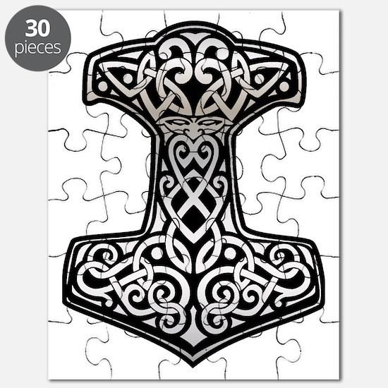 Thor__s_Hammer_chrome Puzzle