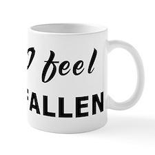 Today I feel crestfallen Mug
