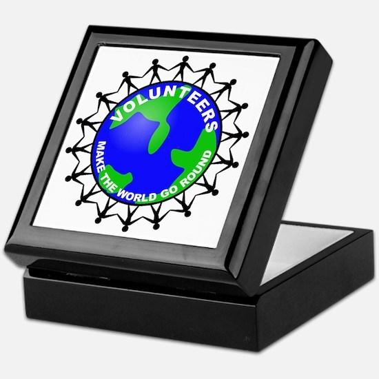 volunteers world final Keepsake Box