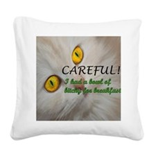BowlofBitchy_Mousepad Square Canvas Pillow