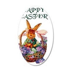 EASTER BUNNY Decal Wall Sticker