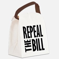 REPEALtheBILL-B Canvas Lunch Bag