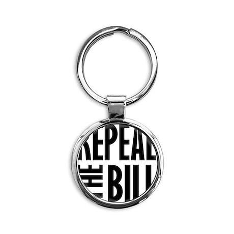 REPEALtheBILL-B Round Keychain