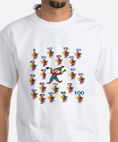 Count by 5 Wacky Shirt