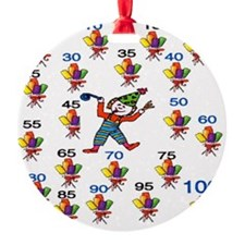 Count by 5 Wacky Ornament