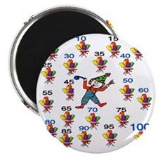 Count by 5 Wacky Magnet