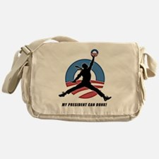 Obama Dunk CafePress PNG Messenger Bag