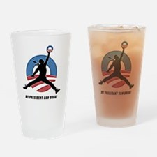 Obama Dunk CafePress PNG Drinking Glass