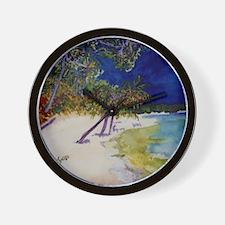 peaceful_beach Wall Clock