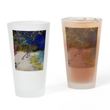 peaceful_beach Drinking Glass