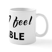 Today I feel affable Mug