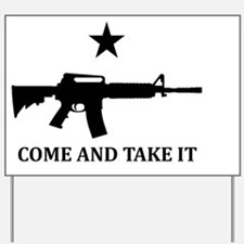 COME AND TAKE IT Flag Magnet Yard Sign