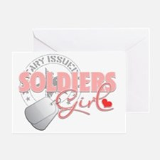 Military Issued Army Greeting Card