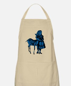 Alice with Fawn Blue Fill Apron