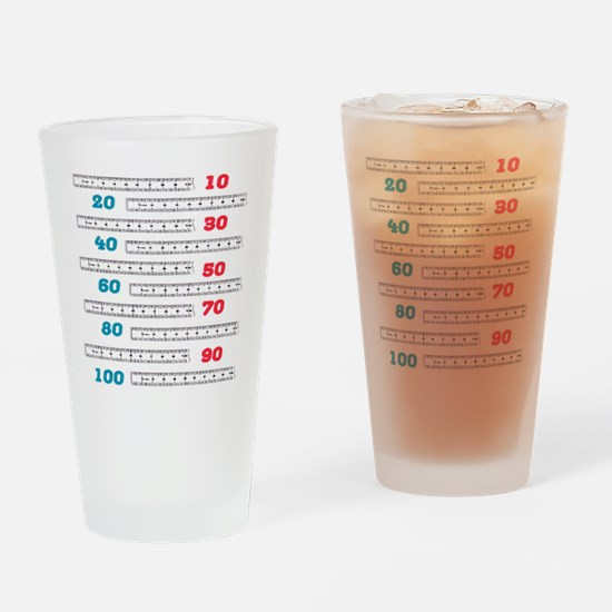 Count by 10 Centimeters Drinking Glass