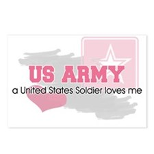 US Soldier loves me Postcards (Package of 8)