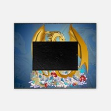 Big Gold Dragon and Glob-Yardsign Picture Frame